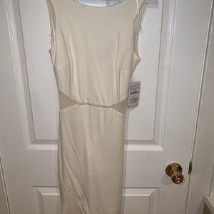Brand new never been worn white Zara dress size:M